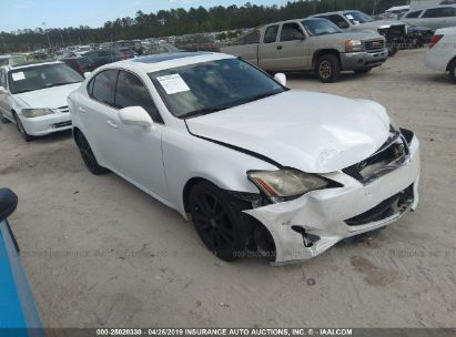 Salvage 2007 LEXUS IS for sale