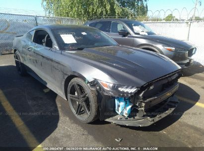 Salvage 2017 FORD MUSTANG for sale