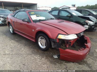 Salvage 1999 FORD MUSTANG for sale