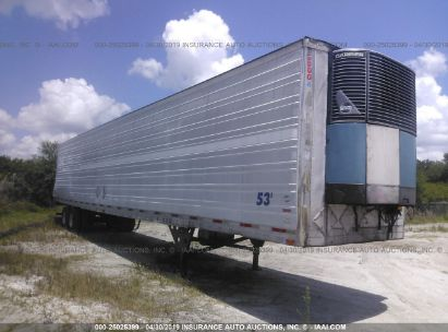 Salvage 2003 UTILITY TRAILER MFG REEFER for sale