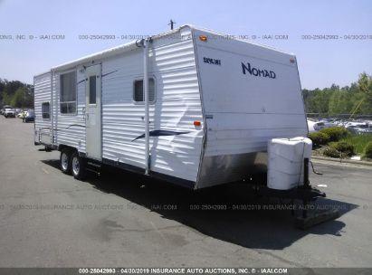 Salvage 2007 NOMAD SKYLINE for sale