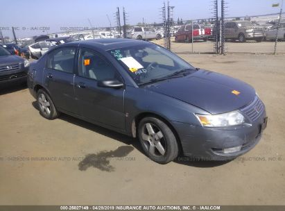 Salvage 2006 SATURN ION for sale
