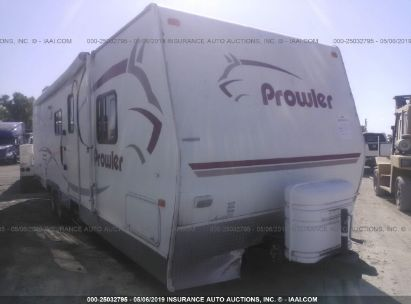 Salvage 2006 FLEETWOOD PROWLER for sale