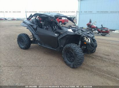 Salvage 2018 CAN-AM MAVERICK X3 for sale