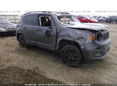 Salvage 2017 JEEP RENEGADE for sale