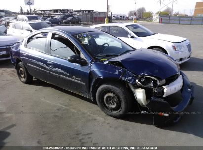 Salvage 2001 PLYMOUTH NEON for sale