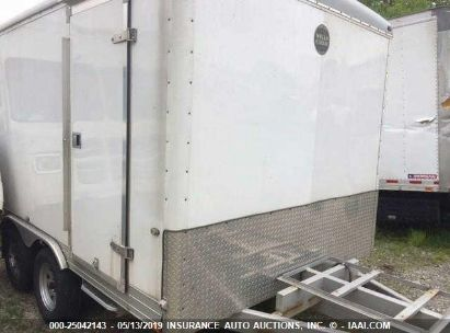 Salvage 2010 WELLS CARGO ENCLOSED CARGO TRAILER for sale