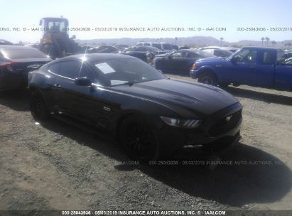 Salvage 2015 FORD MUSTANG for sale