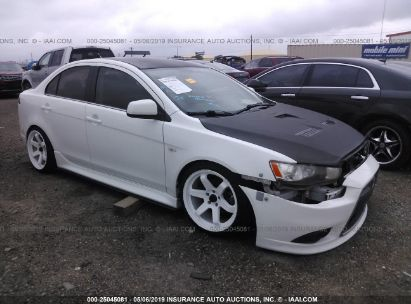 Salvage 2010 MITSUBISHI LANCER for sale