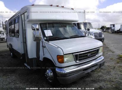 Salvage 2004 FORD E450 for sale