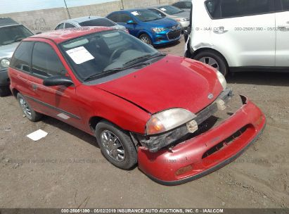 Salvage 1997 GEO METRO for sale