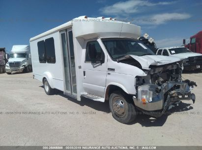 Salvage 2016 GOSHEN BUS (FORD E350) for sale
