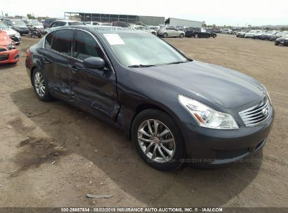 Salvage 2008 INFINITI G35 for sale