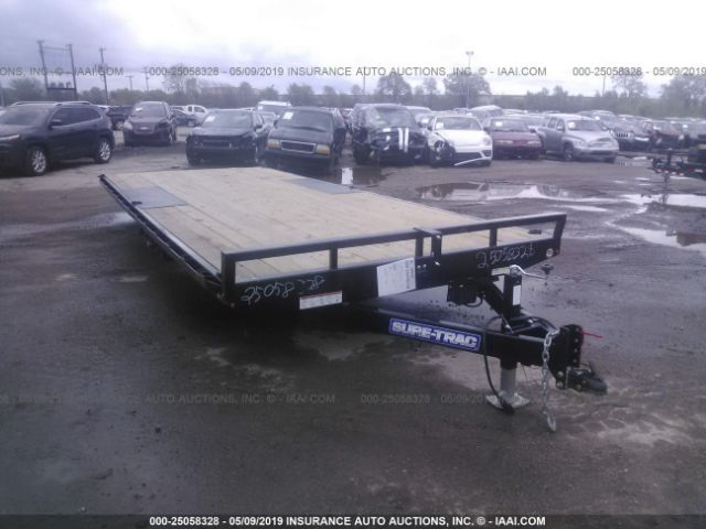 click here to view 2019 SURE-TRAC FLAT BED TRAILER at IBIDSAFELY