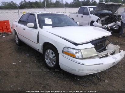 Salvage 2003 MERCURY GRAND MARQUIS for sale