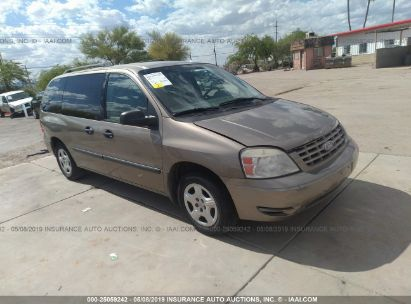 Salvage 2006 FORD FREESTAR for sale