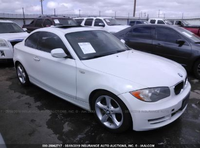 Salvage 2011 BMW 128 for sale