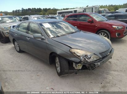 Salvage 2003 LEXUS ES for sale