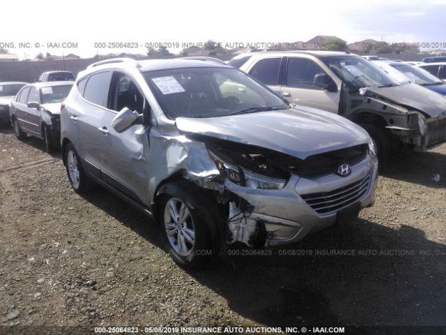 Salvage Title 2013 Hyundai Tucson 24l For Sale In Phoenix Az