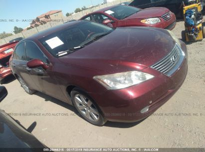 Salvage 2008 LEXUS ES for sale