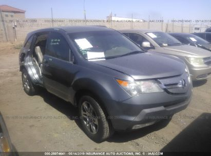 Salvage 2008 ACURA MDX for sale