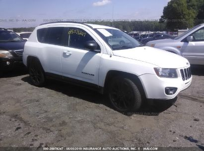 Salvage 2014 JEEP COMPASS for sale