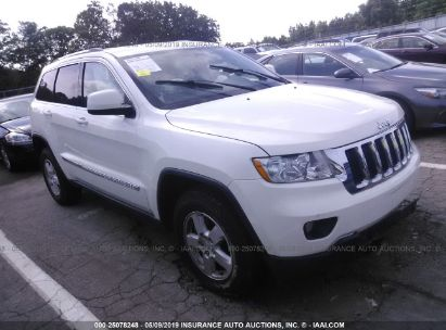Salvage 2012 JEEP GRAND CHEROKEE for sale