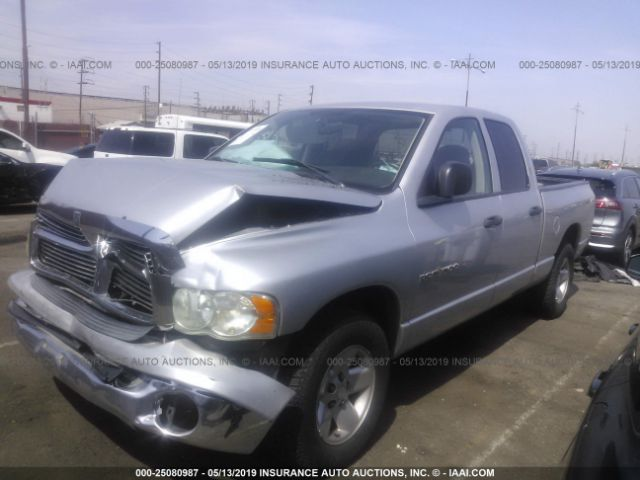 Salvage Title 2003 Dodge RAM 1500 5 9L For Sale in Fontana