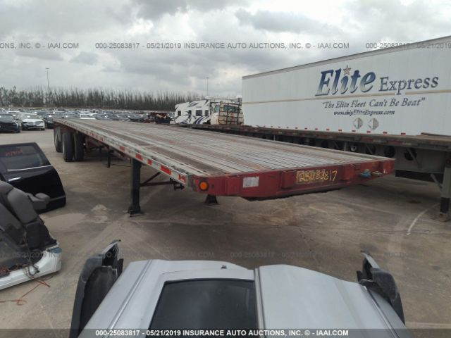 click here to view 2000 FONTAINE TRAILER CO FLATBED at IBIDSAFELY