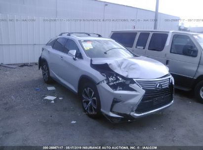 Salvage 2017 LEXUS RX for sale