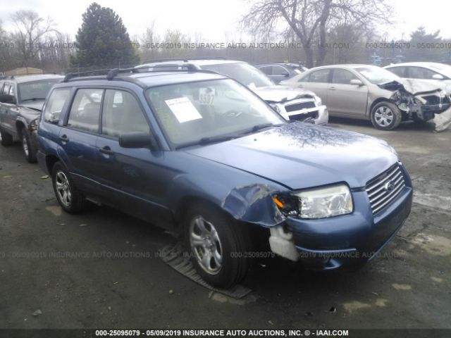 click here to view 2007 SUBARU FORESTER at IBIDSAFELY