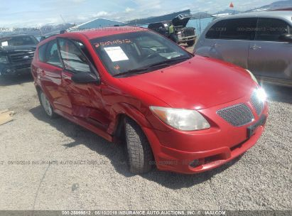 Salvage 2006 PONTIAC VIBE for sale