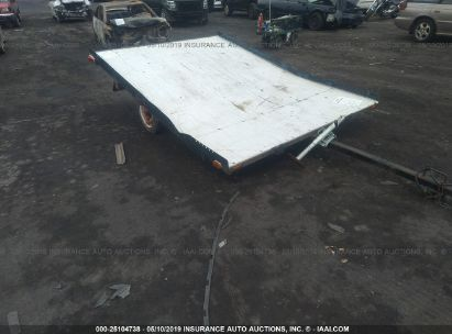 Salvage 1979 ACRO TRAILER CO TRAILER for sale