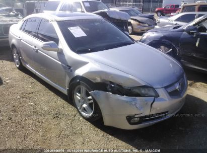 Salvage 2008 ACURA TL for sale