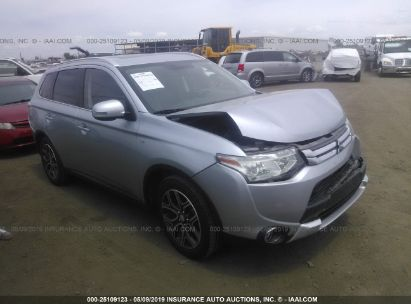 Salvage 2015 MITSUBISHI OUTLANDER for sale