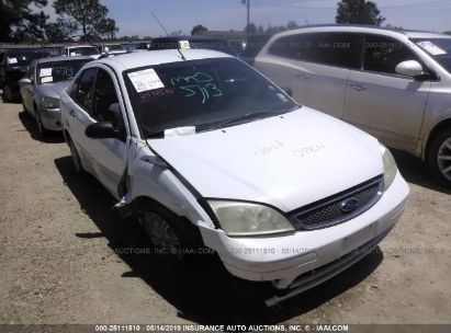 Salvage 2007 FORD FOCUS for sale