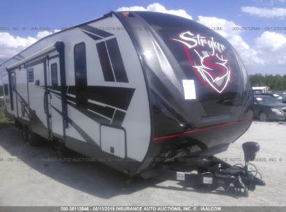 Salvage 2019 CRUISER RV STRYKER for sale
