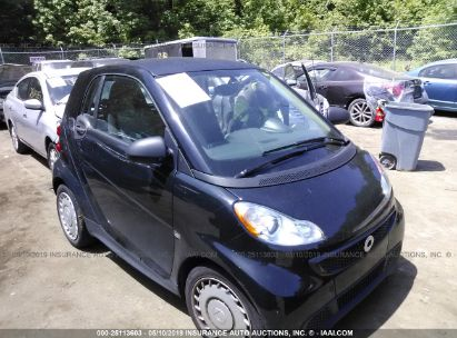 Salvage 2013 SMART FORTWO for sale