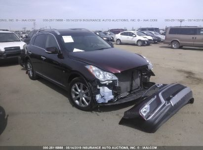 Salvage 2017 INFINITI QX50 for sale