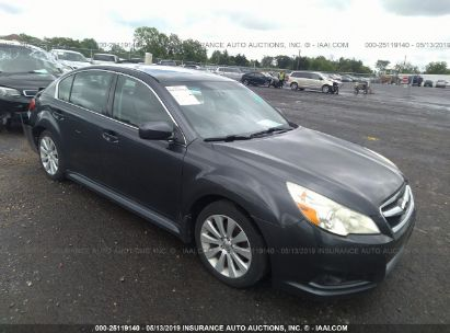 Salvage 2011 SUBARU LEGACY for sale