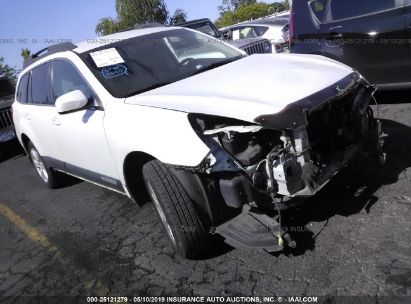 Salvage 2010 SUBARU OUTBACK for sale