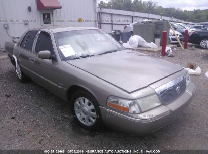 Salvage 2004 MERCURY GRAND MARQUIS for sale