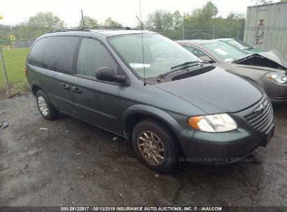 Salvage 2002 CHRYSLER VOYAGER for sale