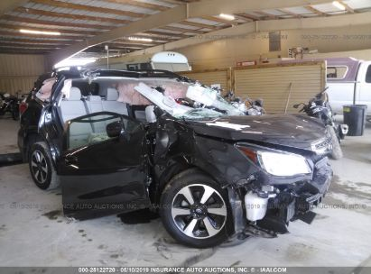 Salvage 2017 SUBARU FORESTER for sale