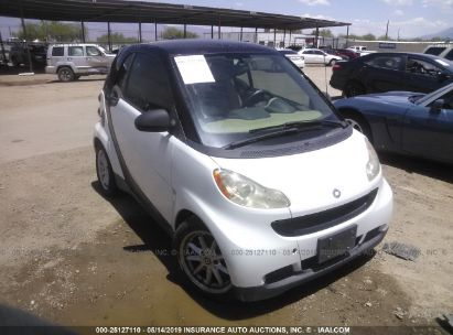 Salvage 2009 SMART FORTWO for sale