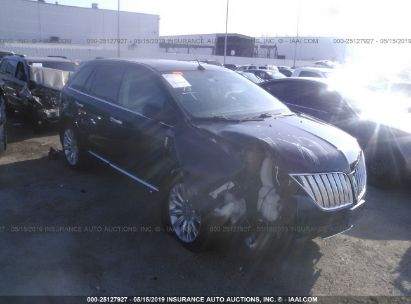 Salvage 2012 LINCOLN MKX for sale