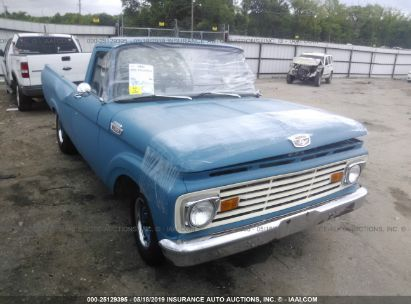 Salvage 1963 FORD F100 for sale