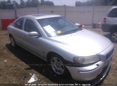 Salvage 2006 VOLVO S60 for sale