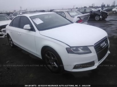 Salvage 2009 AUDI A4 for sale