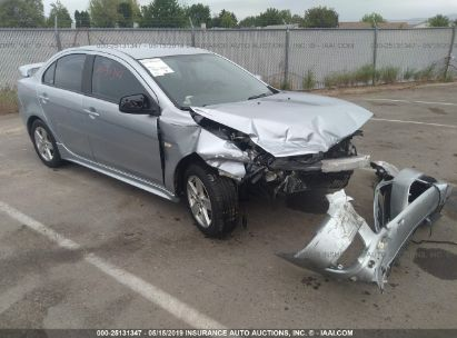 Salvage 2009 MITSUBISHI LANCER for sale